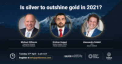 Exclusive webinar speaker presentation: is Silver to Outshine Gold in 2021?