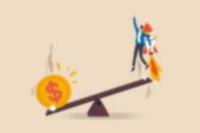Gelddrucken könnte Finanzvermögen in harte Vermögenswerte wie Gold umschichten