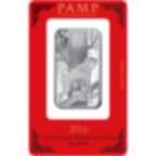 Lingotin d'argent de 1 once pur 999.0 - PAMP Suisse Lunar Singe