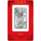 1 oz Fine Silver Bar 999.9 - PAMP Suisse Lunar Monkey