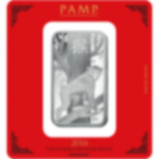 100 Gramm FeinSilberbarren 999.0 - PAMP Suisse Lunar Affe