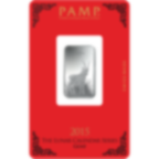 10 gram Fine Silver Bar 999.0 - PAMP Suisse Lunar Goat