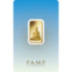 10 grammes lingotin d'or pur 999.9 - PAMP Suisse Bouddha