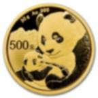 30 grammes pièce d'or pur 999.0 - Panda BU 2019