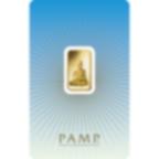 5 grammes lingotin d'or pur 999.9 - PAMP Suisse Bouddha