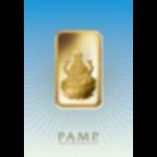 Kaufen Sie 1 Unze FeinGoldbarren Lakshmi - PAMP Schweiz - Pack Front