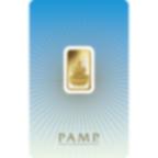 5 grammes lingotin d'or pur 999.9 - PAMP Suisse Lakshmi
