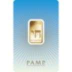 10 grammes lingotin d'or pur 999.9 - PAMP Suisse Am Yisrael Chai