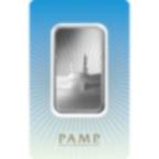 1 oz Fine Silver Bar 999.0 - PAMP Suisse Ka'Bah Mecca