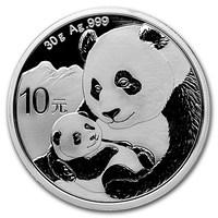 30 grammes pièce d'argent - Panda BU 2019