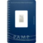 1 gramme lingot de palladium pur 999.5 - PAMP Suisse Lady Fortuna
