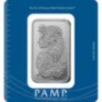 100 grammi lingottino d'argento puro 999.0 - PAMP Suisse Lady Fortuna
