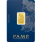 Buy 5 grams Fine gold Lady Fortuna - PAMP Swiss - Veriscan