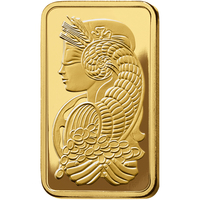 10 oz Fine Gold Bar 999.9 - PAMP Suisse Lady Fortuna