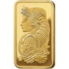 5 oz Fine Gold Bar 999.9 - PAMP Suisse Lady Fortuna