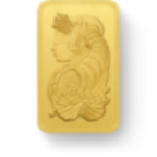 50 gram Fine Gold Bar 999.9 - PAMP Suisse Lady Fortuna Veriscan