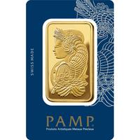 5 tolas lingotin d'or pur 999.9 - PAMP Suisse Lady Fortuna Veriscan