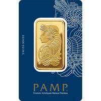 3 tolas lingotin d'or pur 999.9 - PAMP Suisse Lady Fortuna Veriscan