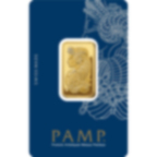 20 gram Fine Gold Bar 999.9 - PAMP Suisse Lady Fortuna Veriscan
