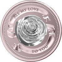 Silver Coin - PAMP Suisse All My Love