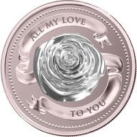 Pièce d'argent - PAMP Suisse All My Love