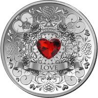 Silver Coin - PAMP Suisse Luminous Love