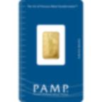 5 grammi lingottino d'oro puro 999.9 - PAMP Suisse Liberty