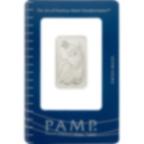 Achat d'or 10 grammes Lingot, Lingotin de Palladium Pur Lady Fortuna - PAMP Suisse - Certi-PAMP