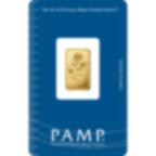 5 Gramm FeinGoldbarren 999.9 - PAMP Suisse Rosa