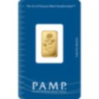 2,5 Gramm FeinGoldbarren 999.9 - PAMP Suisse Rosa