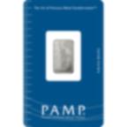 5 grammi lingottino di platino puro 999.5 - PAMP Suisse Liberty