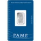 5 gram Silver Bar - PAMP Suisse Lady Fortuna
