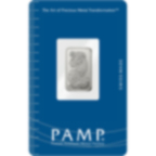 2,5 grammi lingottino d'argento - PAMP Suisse Lady Fortuna