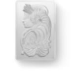 investir dans l'or, 250 grammes Lingot, Lingotin d'argent Pur Lady Fortuna - PAMP Suisse - Front