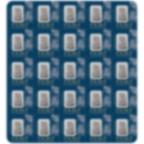 25x1 gram multigram Platinum Bar - PAMP Suisse Lady Fortuna