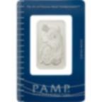 Achat d'or 1 once Lingot, Lingotin de Palladium Pur Lady Fortuna - PAMP Suisse - Certi-PAMP