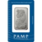 50 Gramm FeinPlatinbarren 999.5 - PAMP Suisse Lady Fortuna