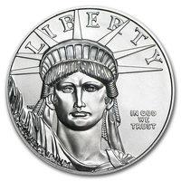 1 oncia moneta di platino puro 999.5 - American Eagle BU Anni Misti