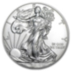 1 oz Fine Silver Coin 999.0 - American Eagle BU Mixed Years