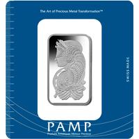 100 grammes lingot de palladium - PAMP Suisse Lady Fortuna