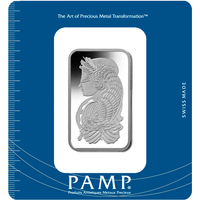 100 grammi lingottino di palladio - PAMP Suisse Lady Fortuna