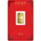 Buy 5 grams Fine gold Lunar Ox - PAMP Swiss