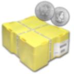 500 Münzen Maple Leaf Silber Monster Box - Münzen Box