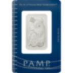 Achat d'or 1 once Lingot, Lingotin de Platine Pur Lady Fortuna - PAMP Suisse - Certi-PAMP