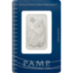 Comprare 1 oncia lingottino di platino puro 999.5 - PAMP Suisse Lady Fortuna - Certi-PAMP