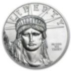 1/10 oz Fine Platinum Coin 999.5 - American Eagle Random year