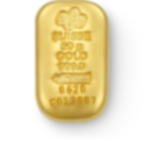 Buy 50 grams Fine gold Cast Bar - PAMP Swiss - Front