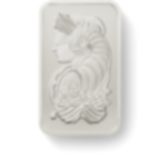 1 oz Fine VAT-Free Platinum Bar 999.5 - PAMP Suisse Lady Fortuna