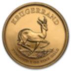 1 once pièce d'or pur 916.7 - Krugerrand Années Mixtes