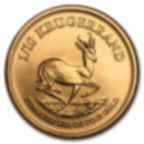 1/10 once pièce d'or pur 916.7 - Krugerrand Années Mixtes